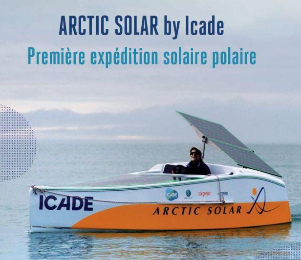 5a95d8913e Avec son projet Artic Solar, Anne Quéméré va essayer de franchir le passage  du Nord-Ouest au cours de l'été 2018
