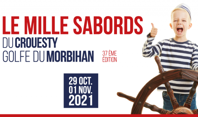 On the way to the 37th edition of Mille Sabords du Crouesty